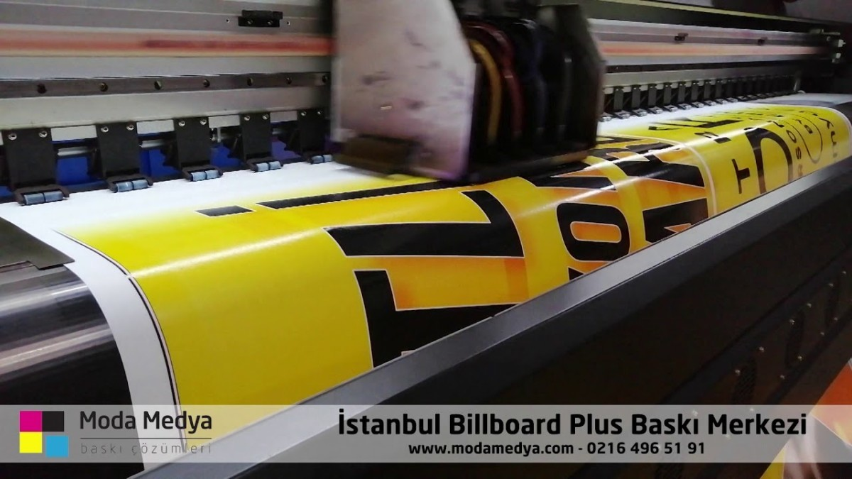Billboard plus baskı
